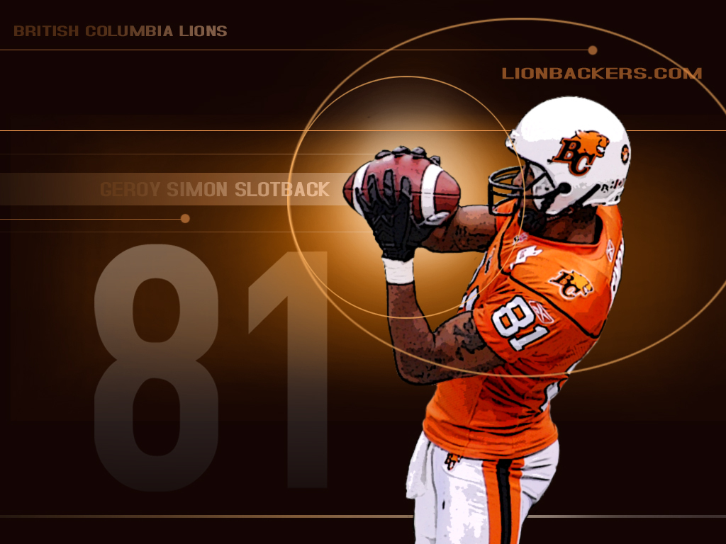 Lionbackerscom   The BC Lions Fan Den   Desktop Wallpapers 1024x768