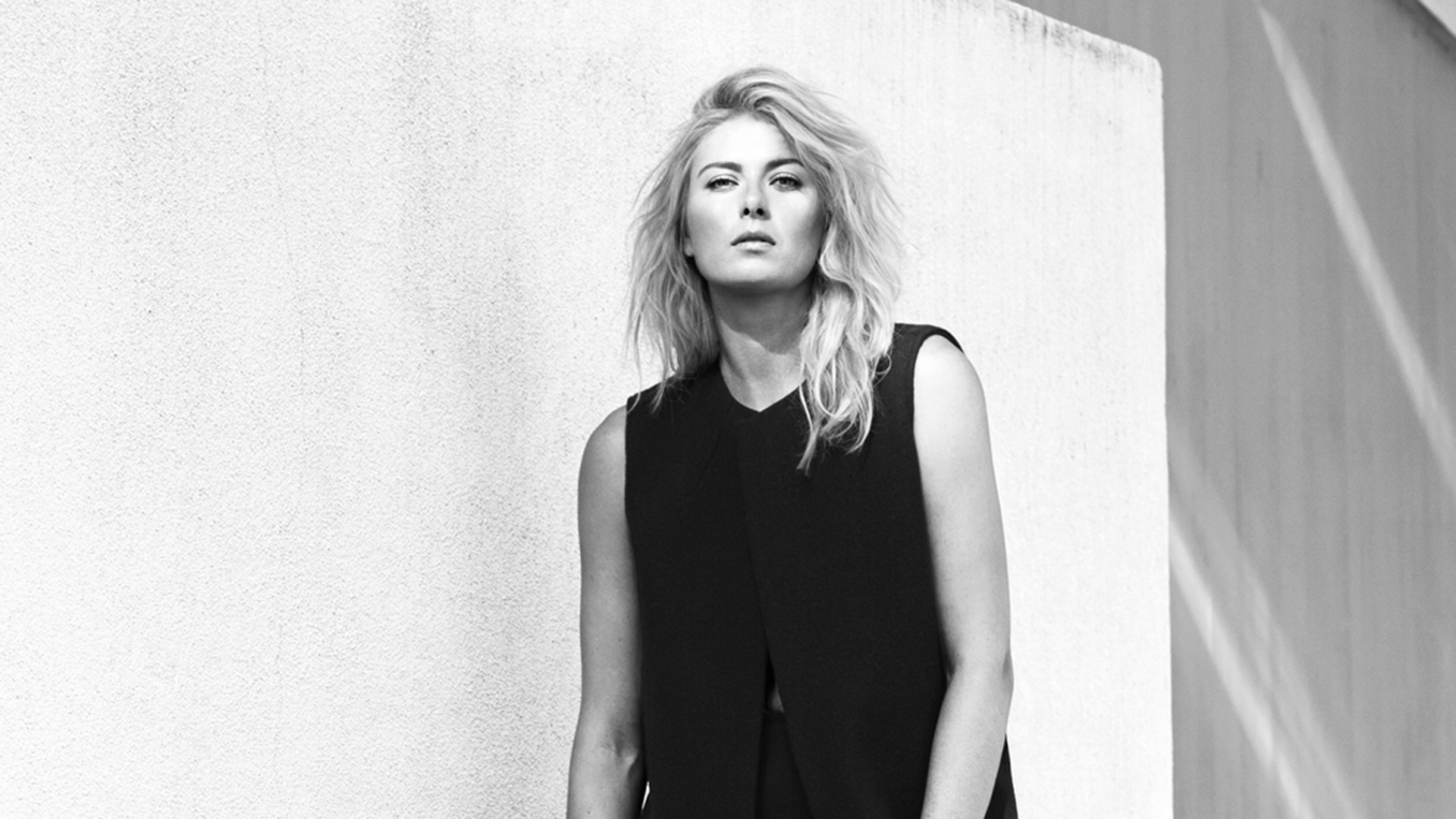 Black and White Maria Sharapova Wallpaper 65024 1920x1080px 1920x1080