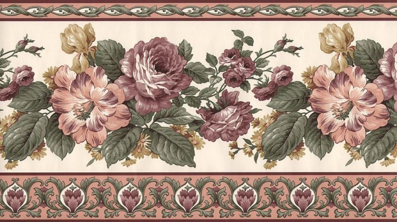border border victorian border wallpaper floral victorian wallpaper 1440x806