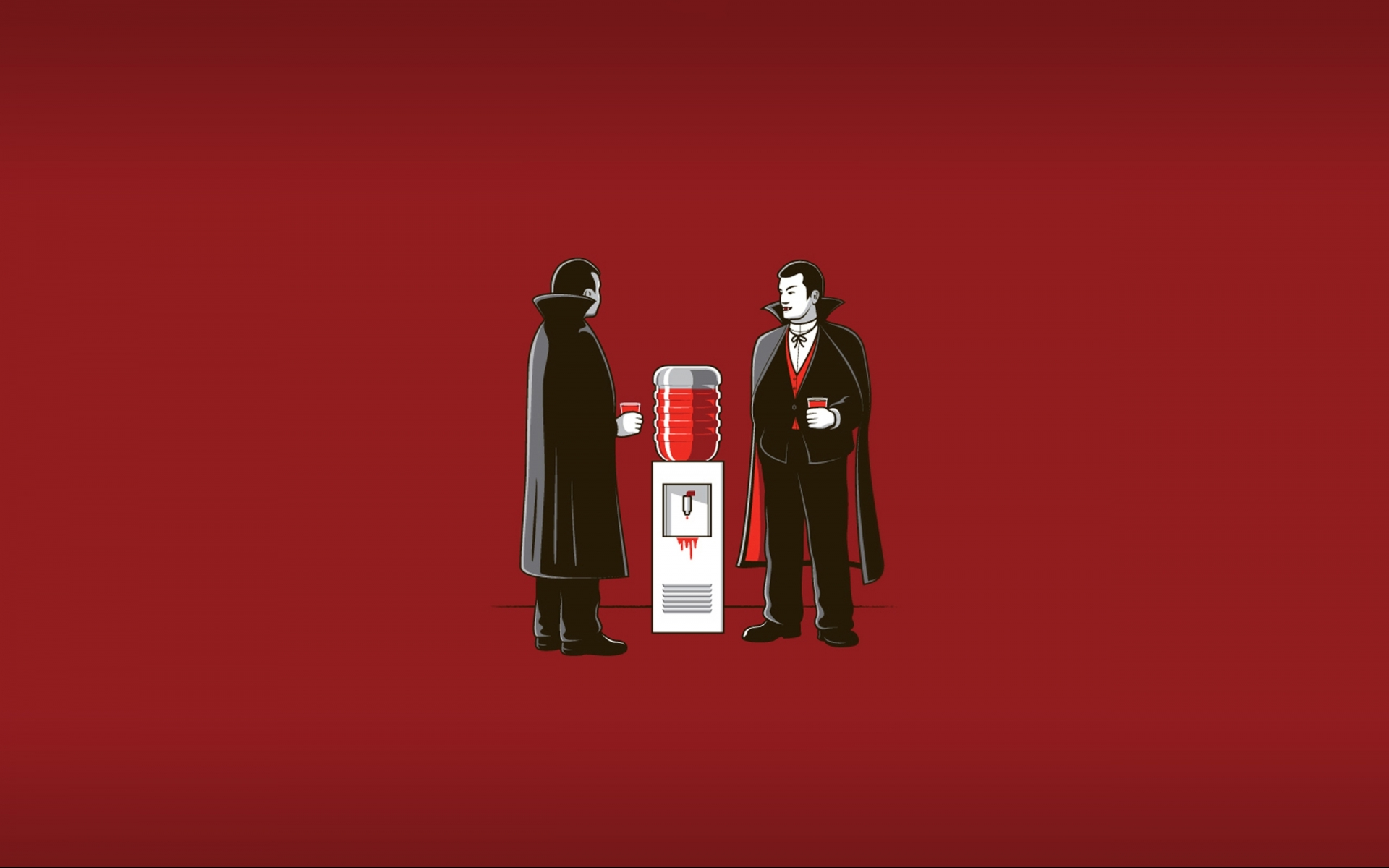 humor funny office dark horror vampire blood wallpaper background 1920x1200