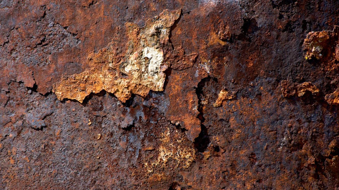 Pin Rusty Metal Wallpaper 1366x768jpg 1366x768