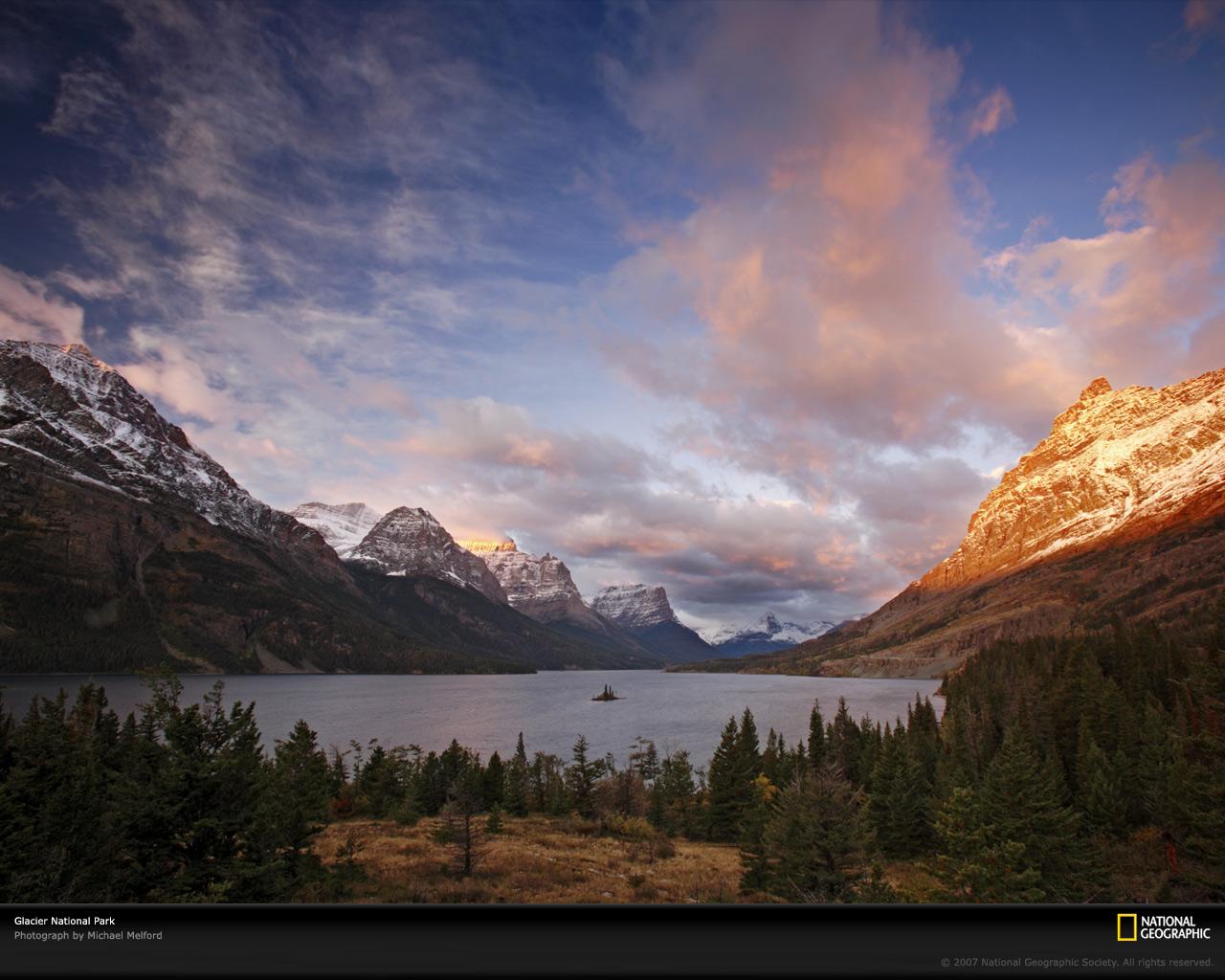 Glacier National Park US Parks Photos Download Wallpaper 1280x1024