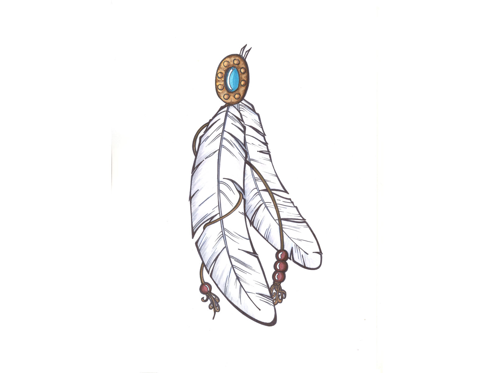 11 Beautiful Red Indian Tribal Tattoo design wallpapers 1600x1200