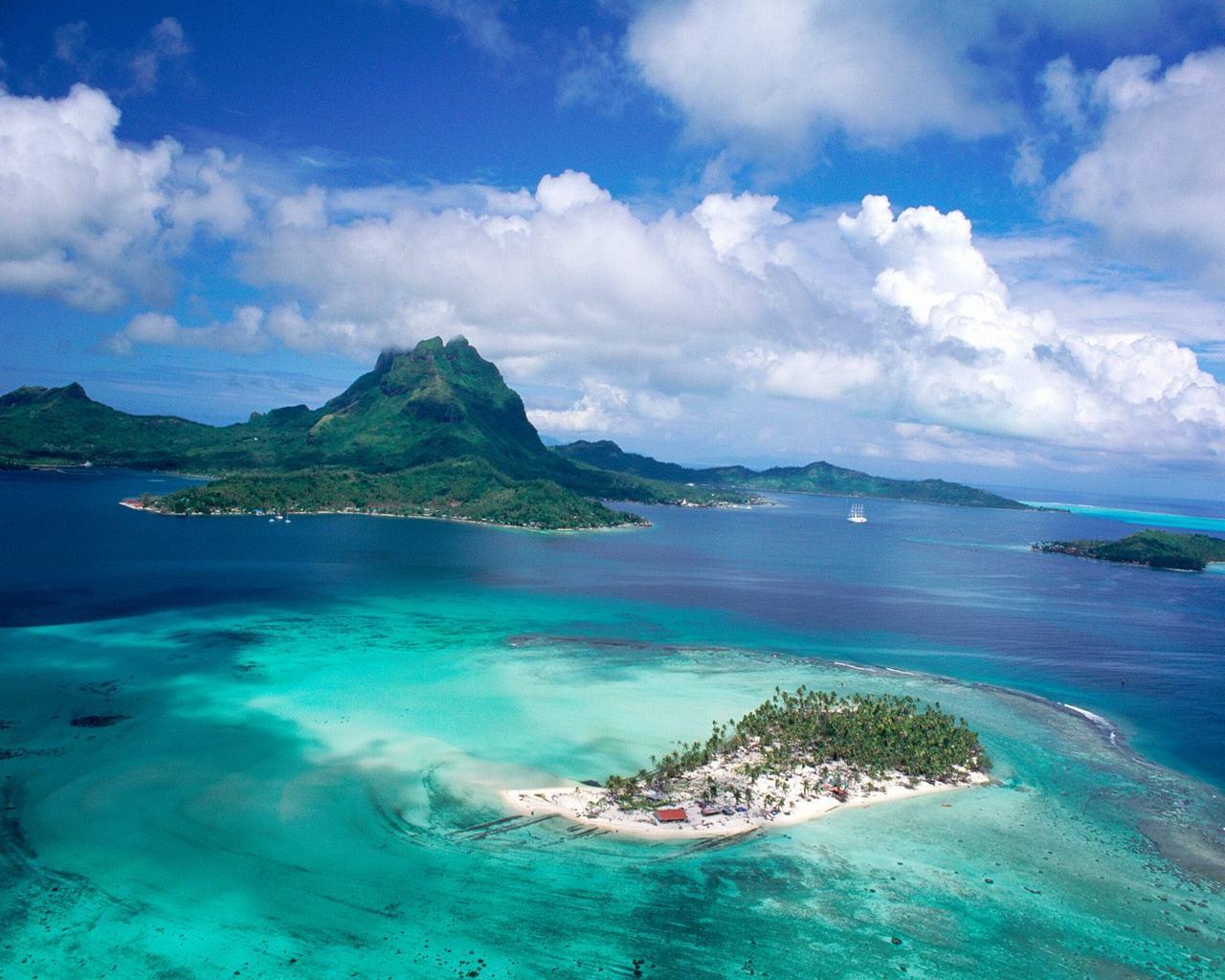 Tropical Island Desktop Wallpaper 1280x1024