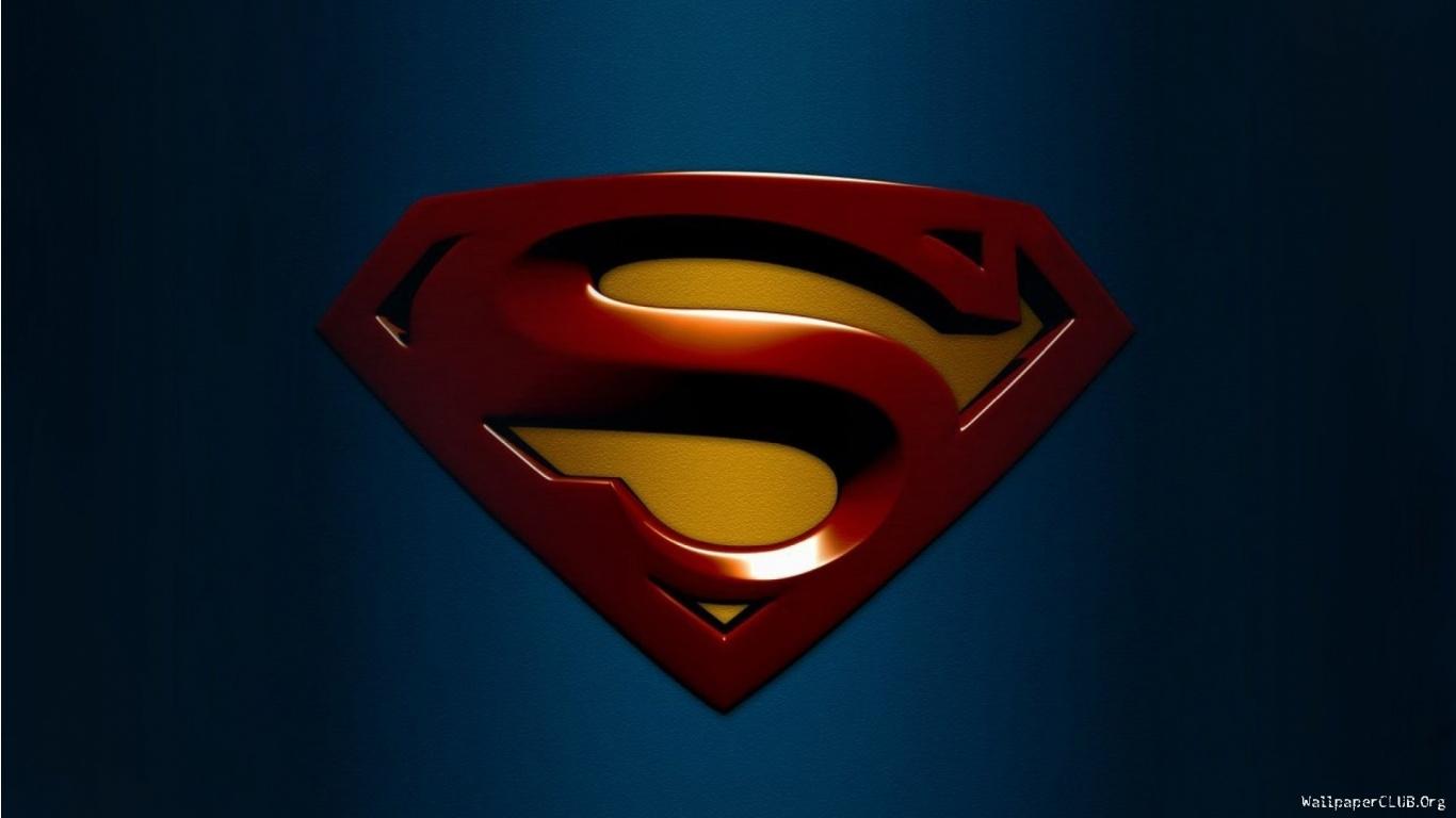 Superman Logo Wallpaper 6150 Hd Wallpapers in Logos   Imagescicom 1366x768