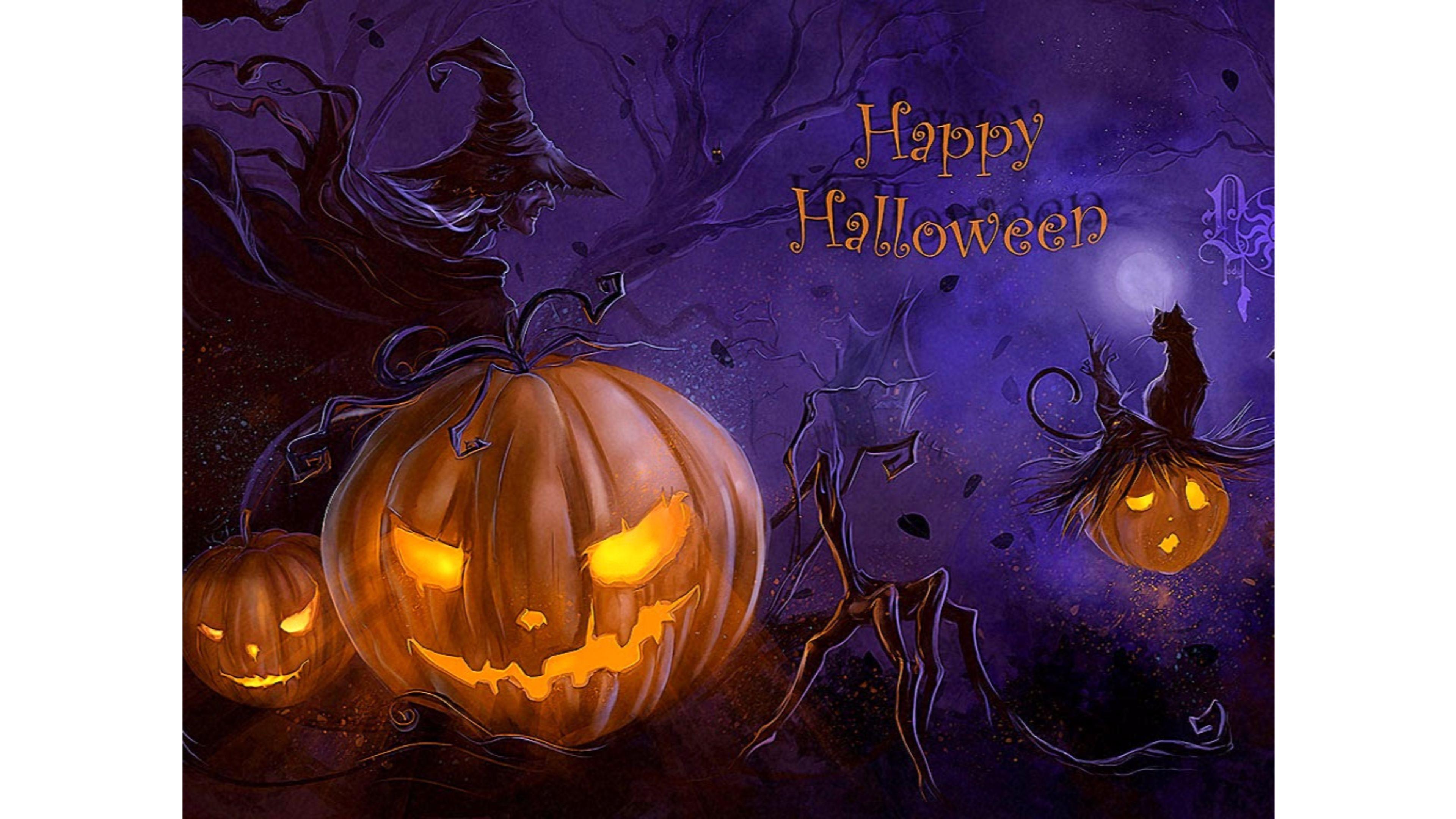 New 2017 Happy Halloween 4K Wallpapers 4K Wallpaper 3840x2160