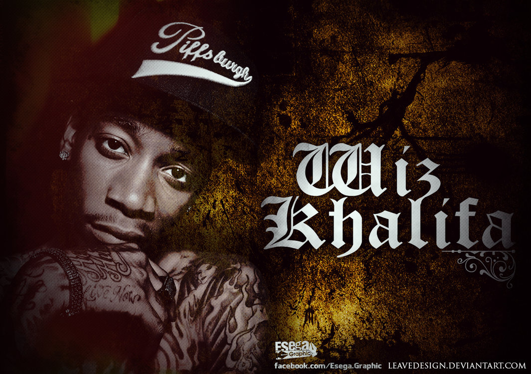 Wallpaper iphone wiz khalifa - Wiz Khalifa Wallpaper Calismasi Esega Graphic By Esegagraphic On