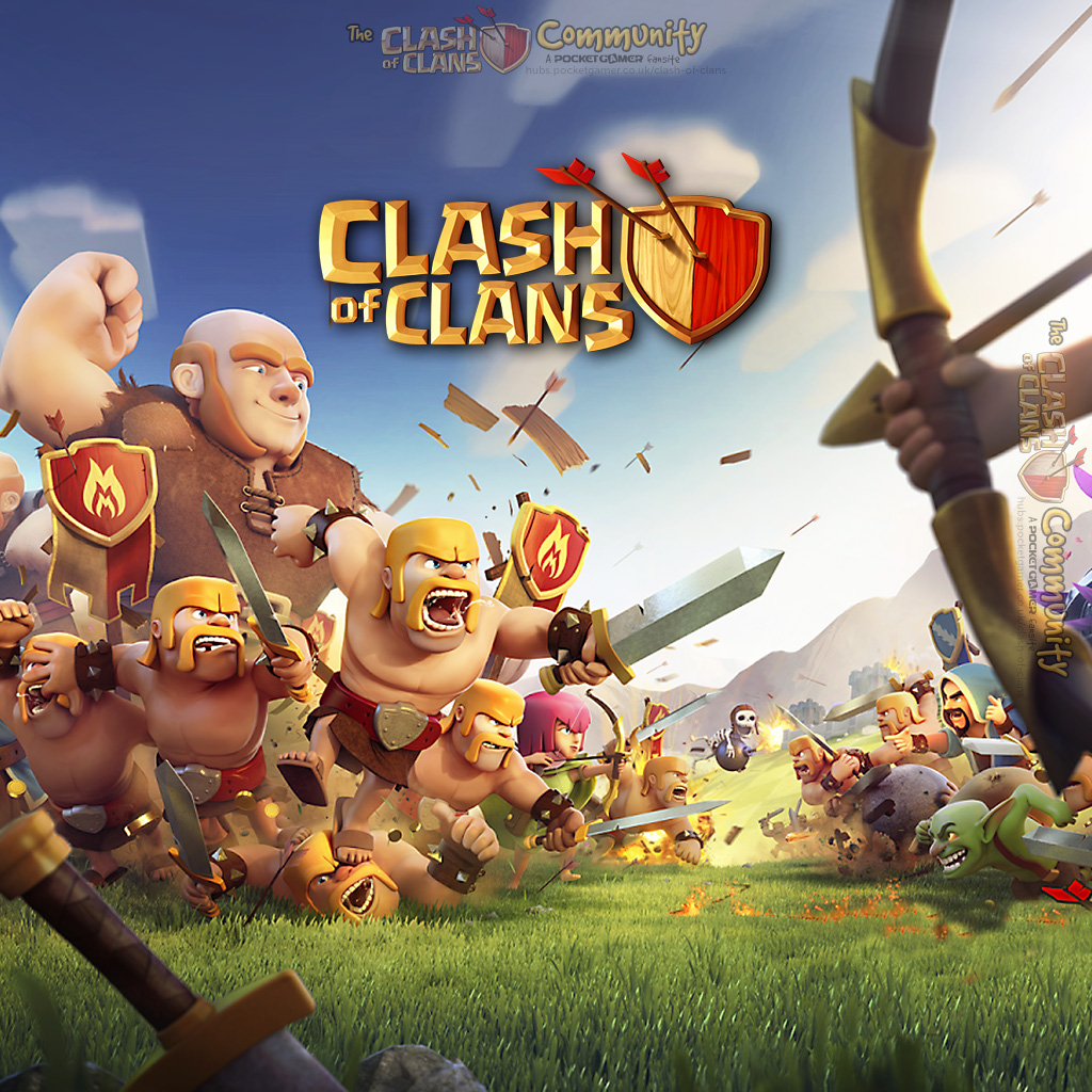 Wallpapers Clash of Clans Pocket Gamer Game Hub 1024x1024