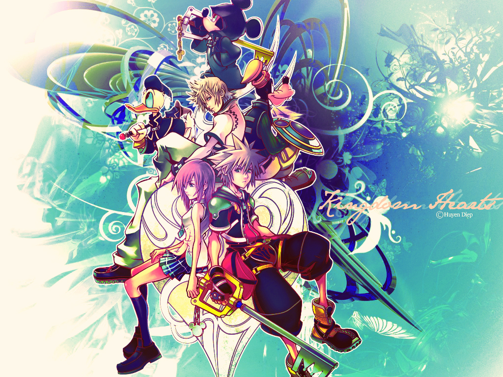 KH2   Kingdom Hearts 2 Wallpaper 8952127 1024x768