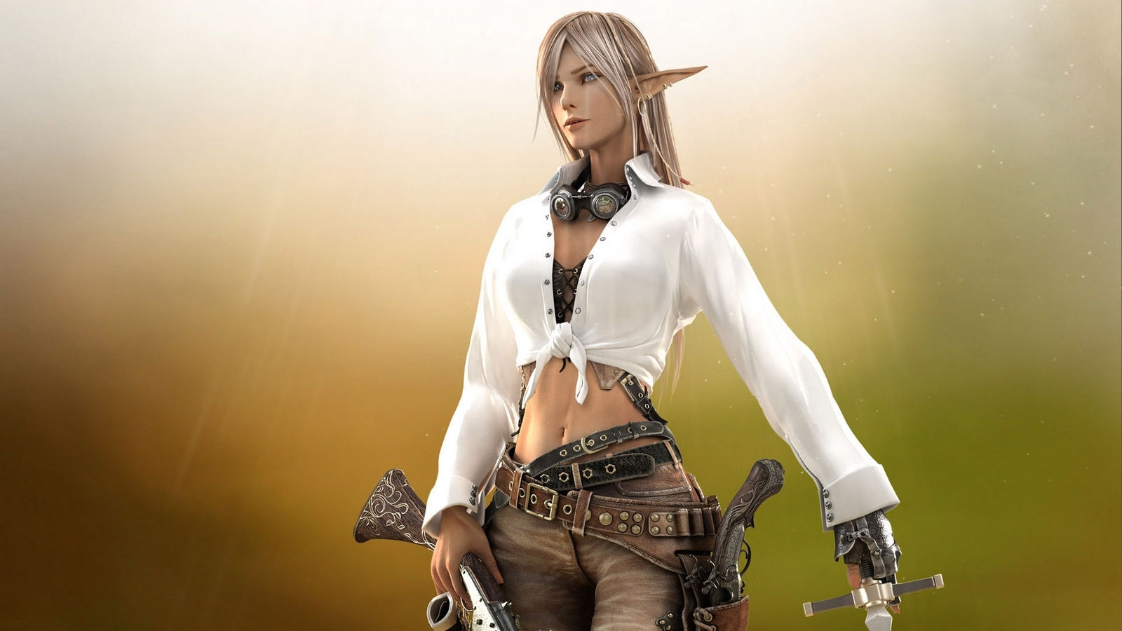 Wood looking wallpaper for wall wallpapersafari - Female Elves Wallpaper Wallpapersafari