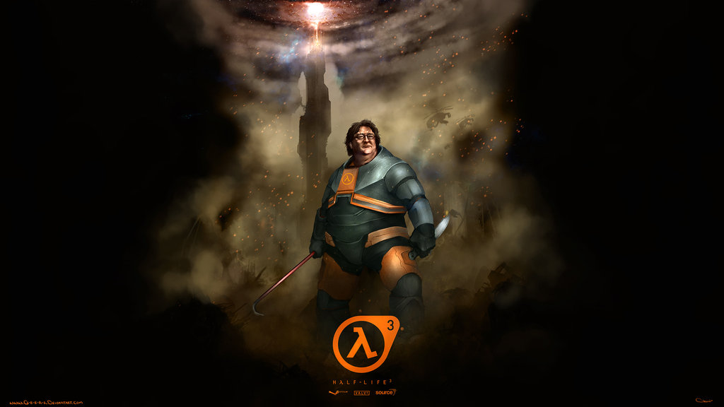 Free download Gabe Newell Half Life 3 wallpaper 2560x1440 by