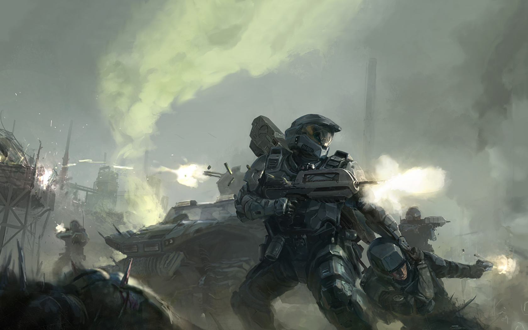 Halo Wallpaper Wallpapers HD Quality 1680x1050