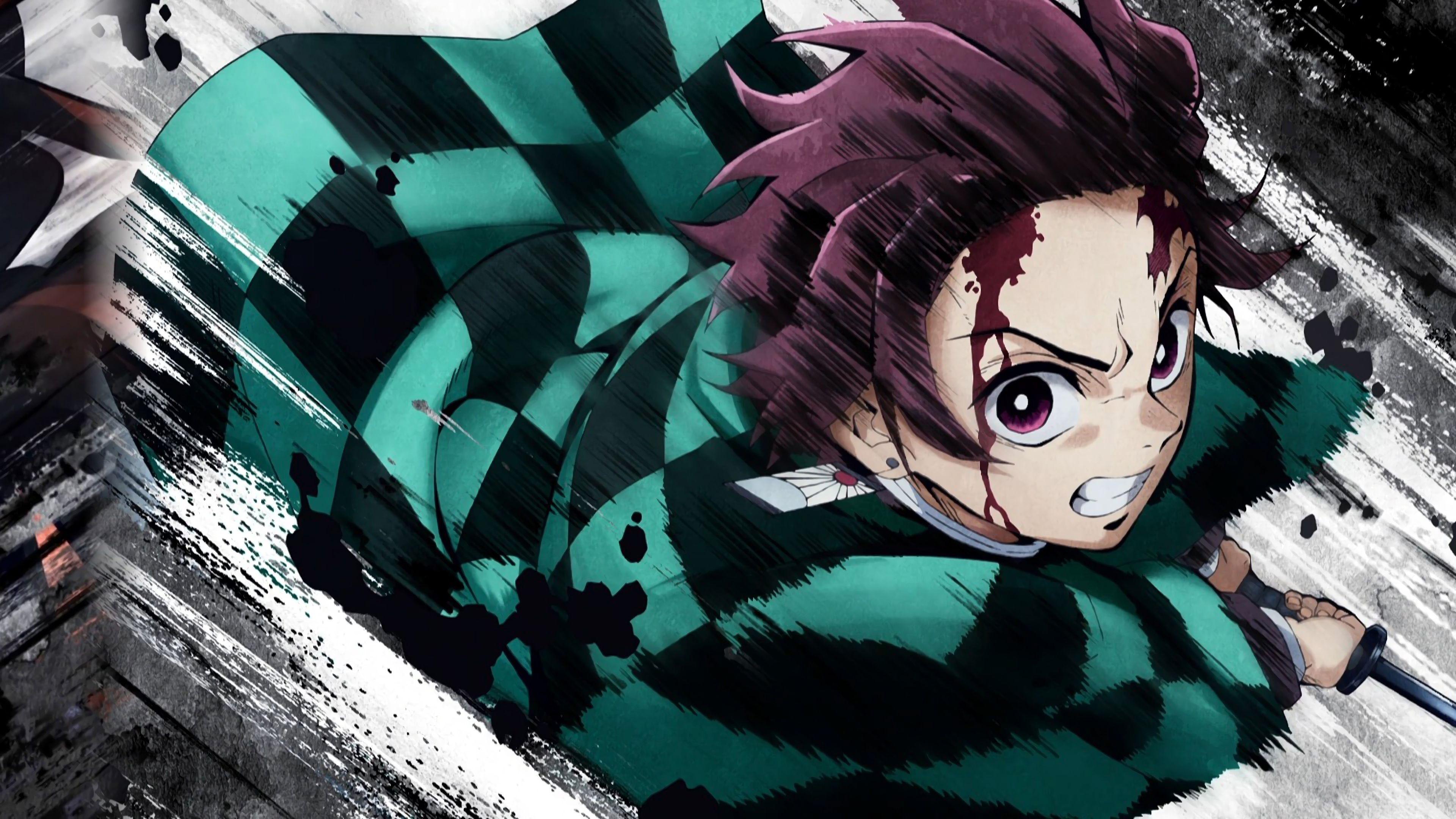 Kimetsu No Yaiba Wallpaper Hd Pc Menina anime Anime Animes br 3840x2160