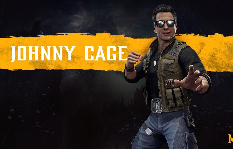 Wallpaper fighter Mortal Kombat Johnny Cage MK11 NetherRealm 1332x850