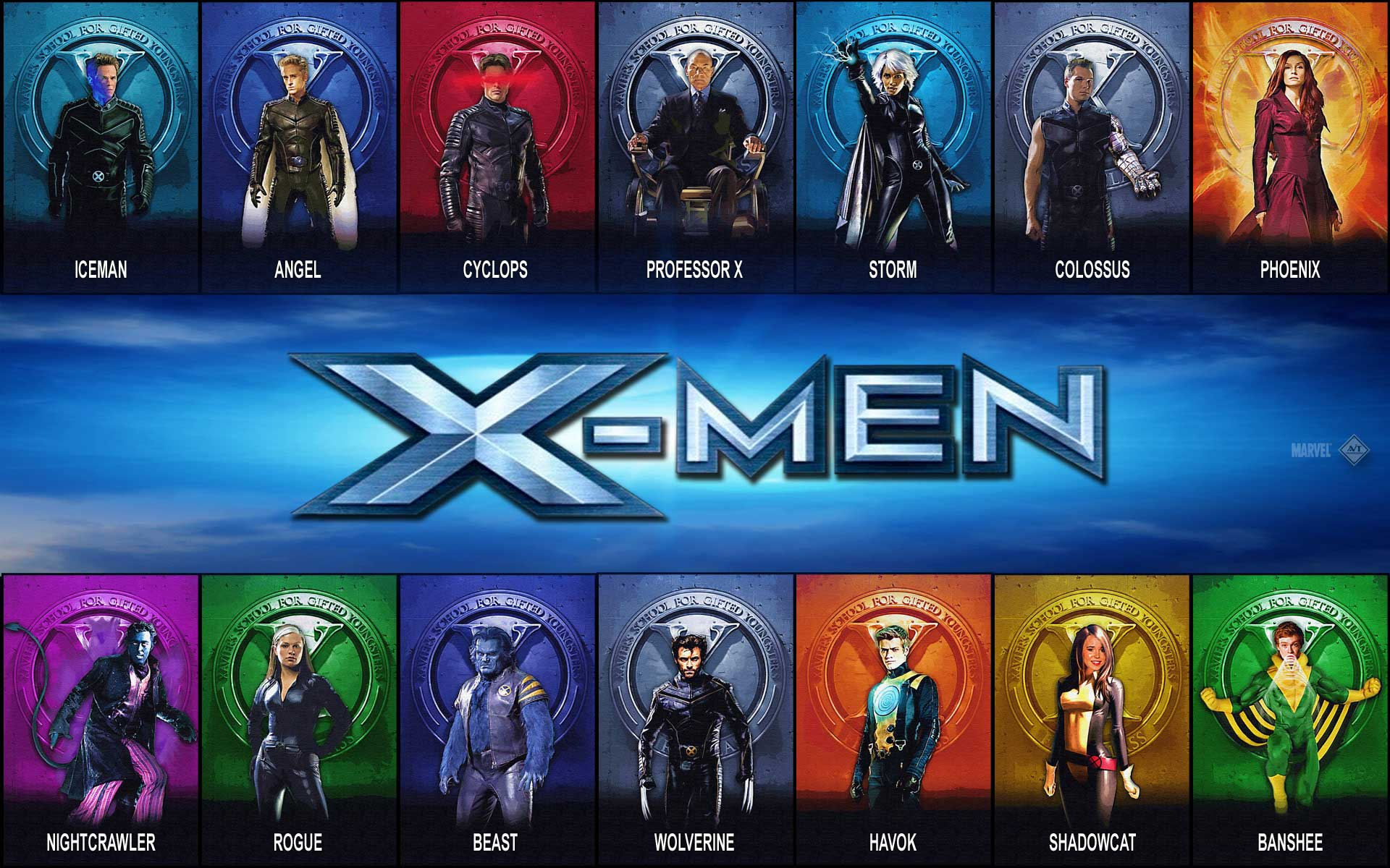 X Men Wallpaper Hd posted by Zoey Tremblay 1920x1200