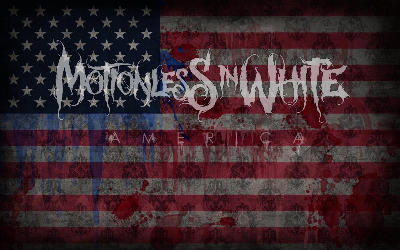 Motionless in White   America by riickyART 1280x800