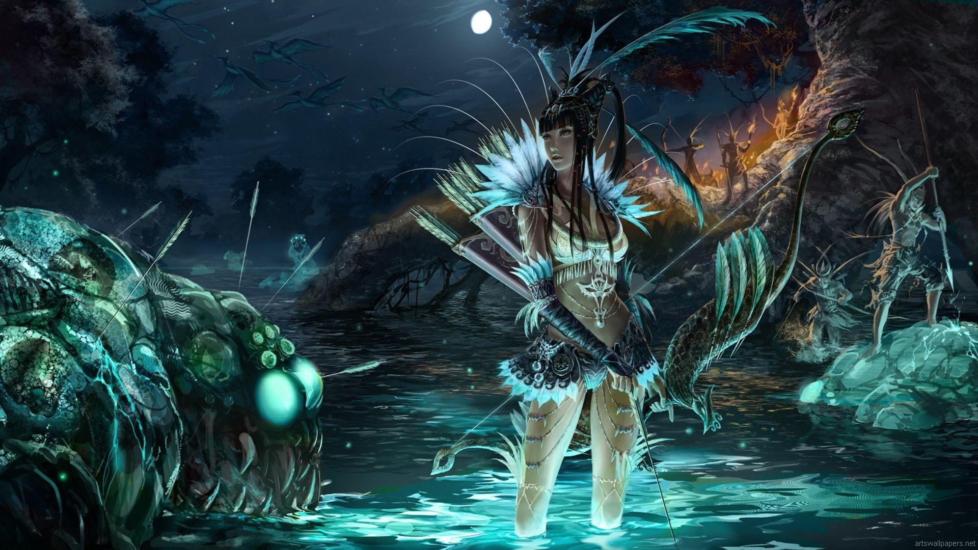Anime Inspired Hd Fantasy Wallpapers For Your Collection: Anime Fantasy Wallpaper