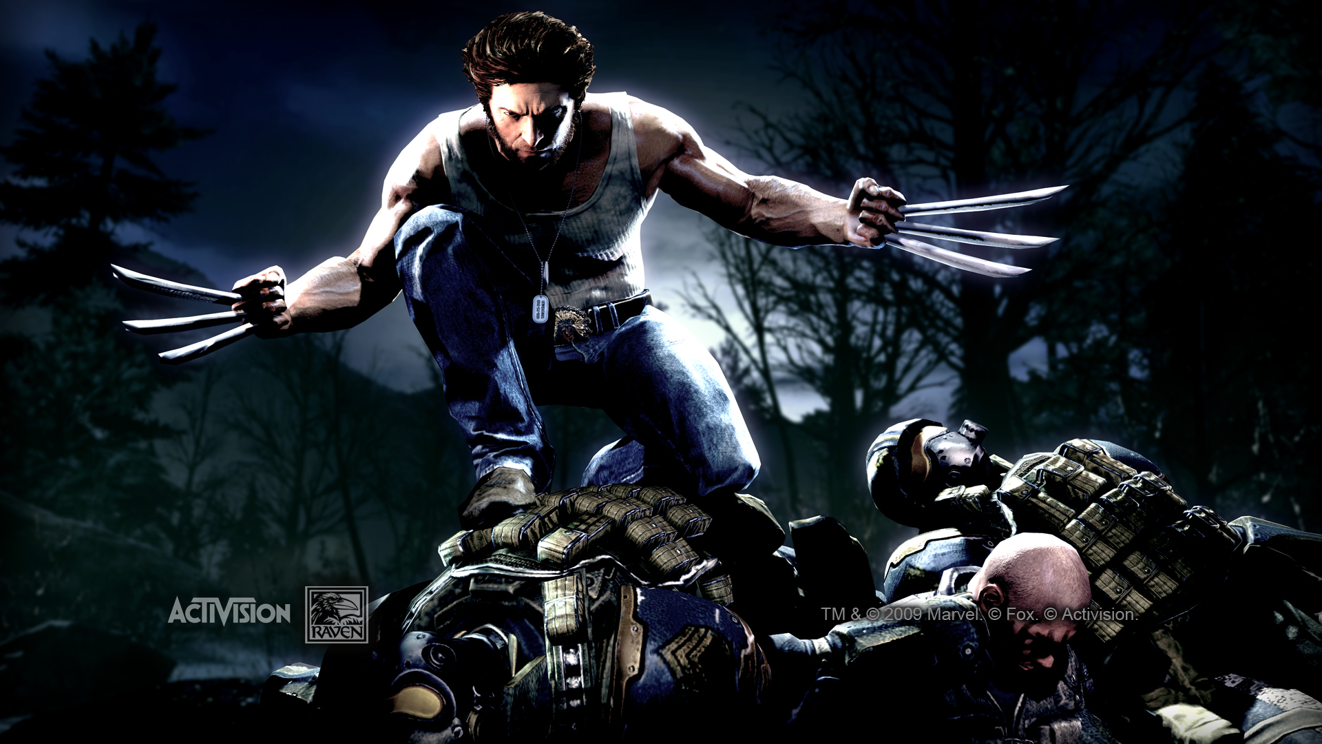 X Men Origins Wolverine Game wallpaper 87911 1920x1080