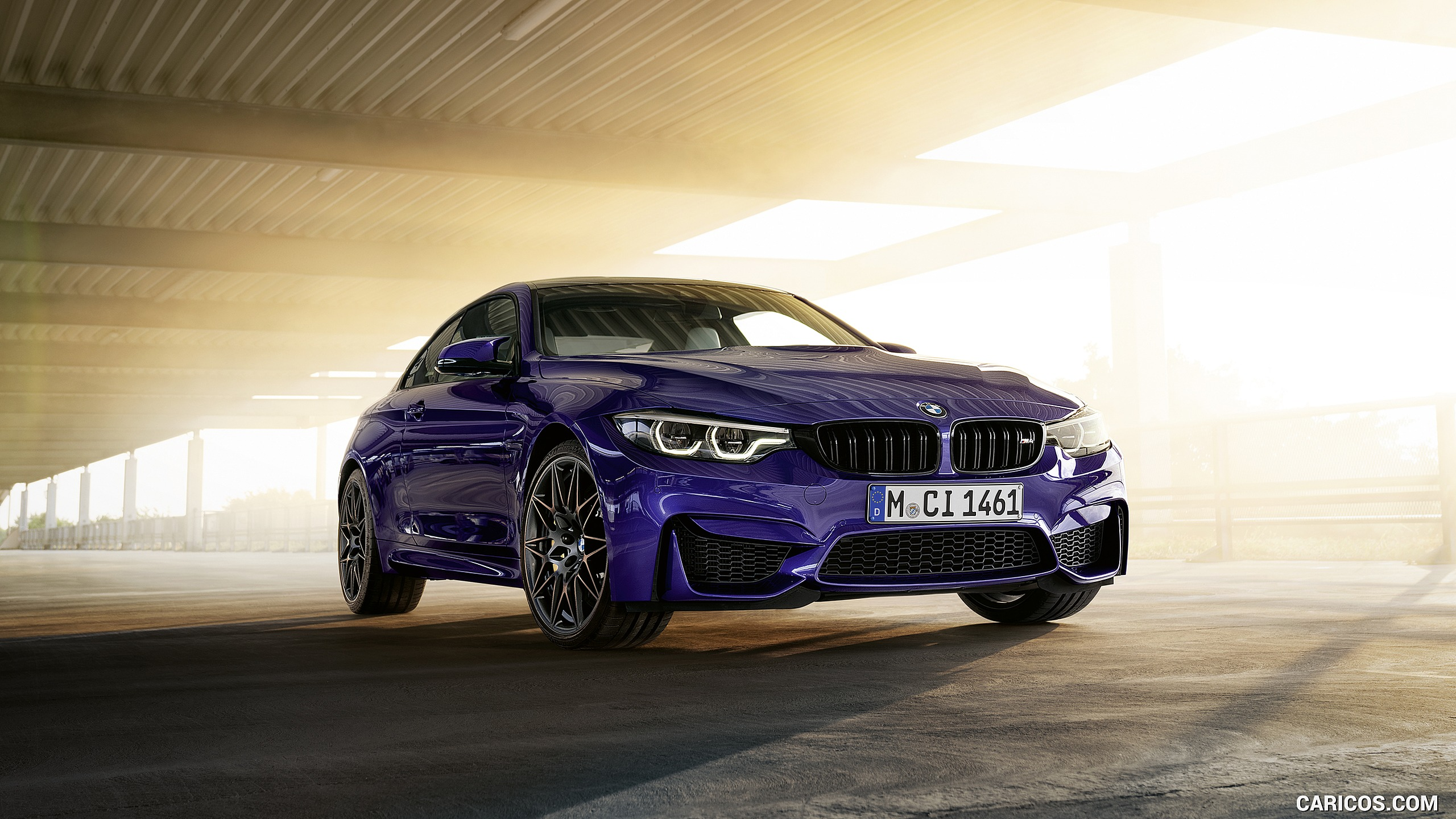 2020 BMW M4 Edition M Heritage   Front Three Quarter HD 2560x1440
