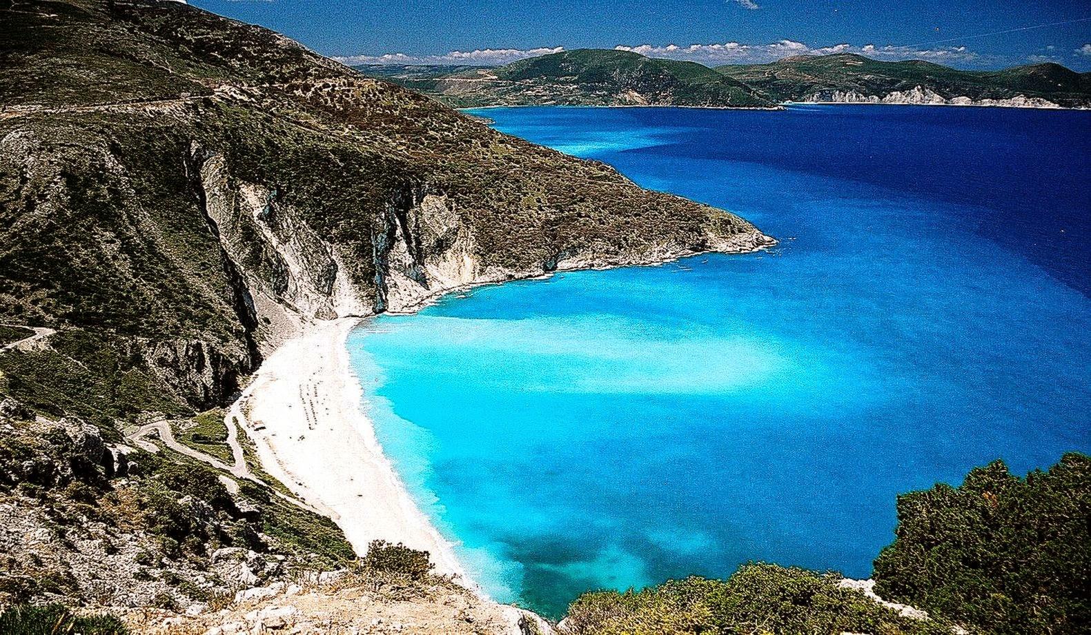 Greece Beach Wallpaper HD Wallpapers 1581x921