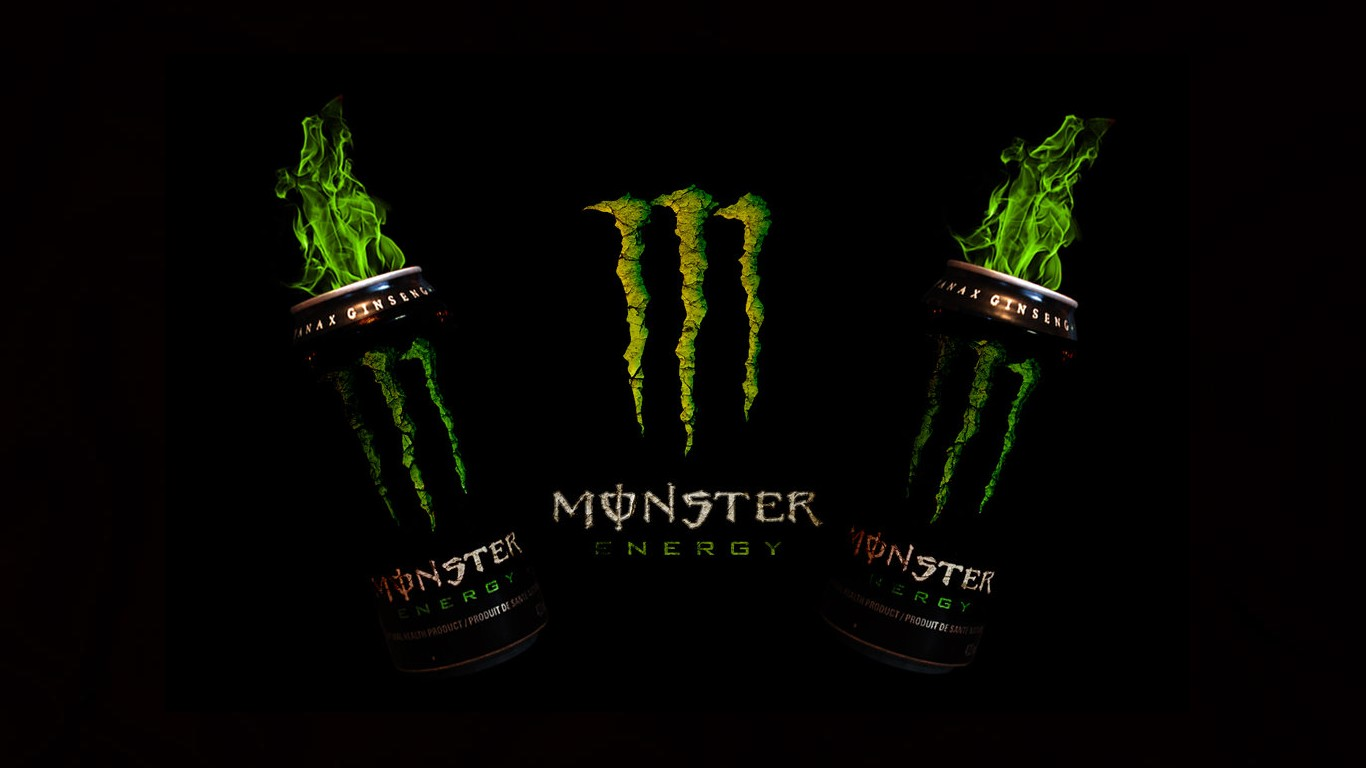 Monster Energy Drink Computer Wallpapers Desktop Backgrounds 1366x768