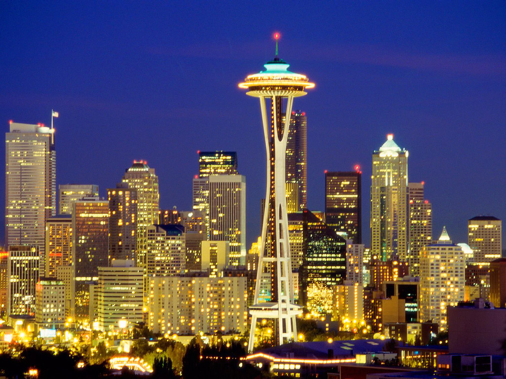 Seattle wallpaper Cities wallpapers 1024x768