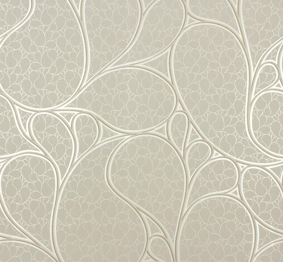 Beige and gray wallpaper wallpapersafari for Modern wallpaper designs