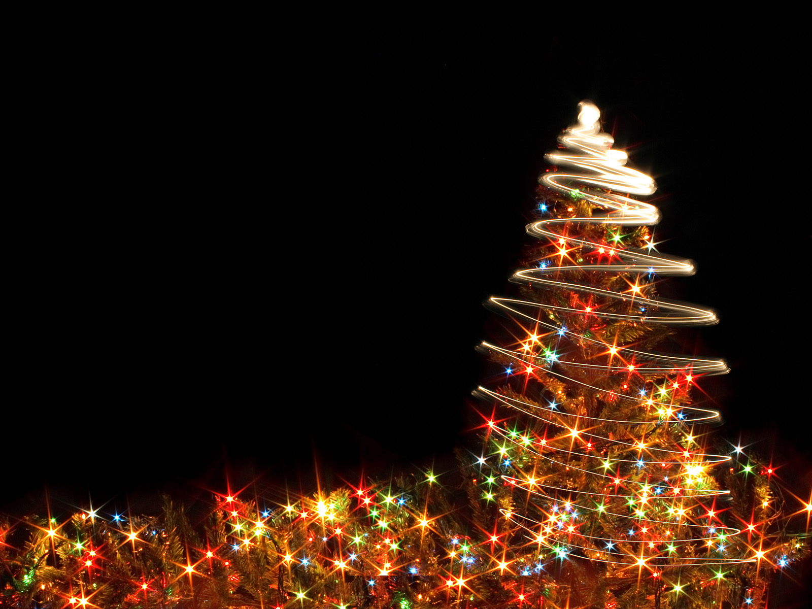 Animated Christmas Lights Wallpaper - WallpaperSafari