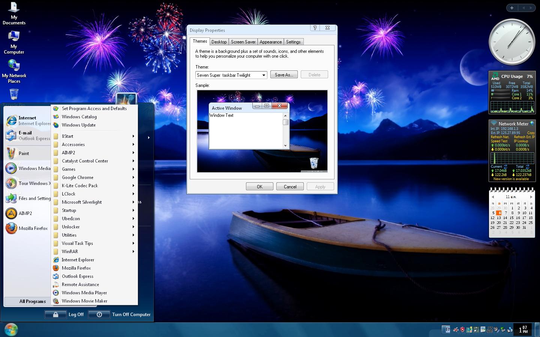 Lenovo Windows 7 Wallpaper Think Theme 1440x900