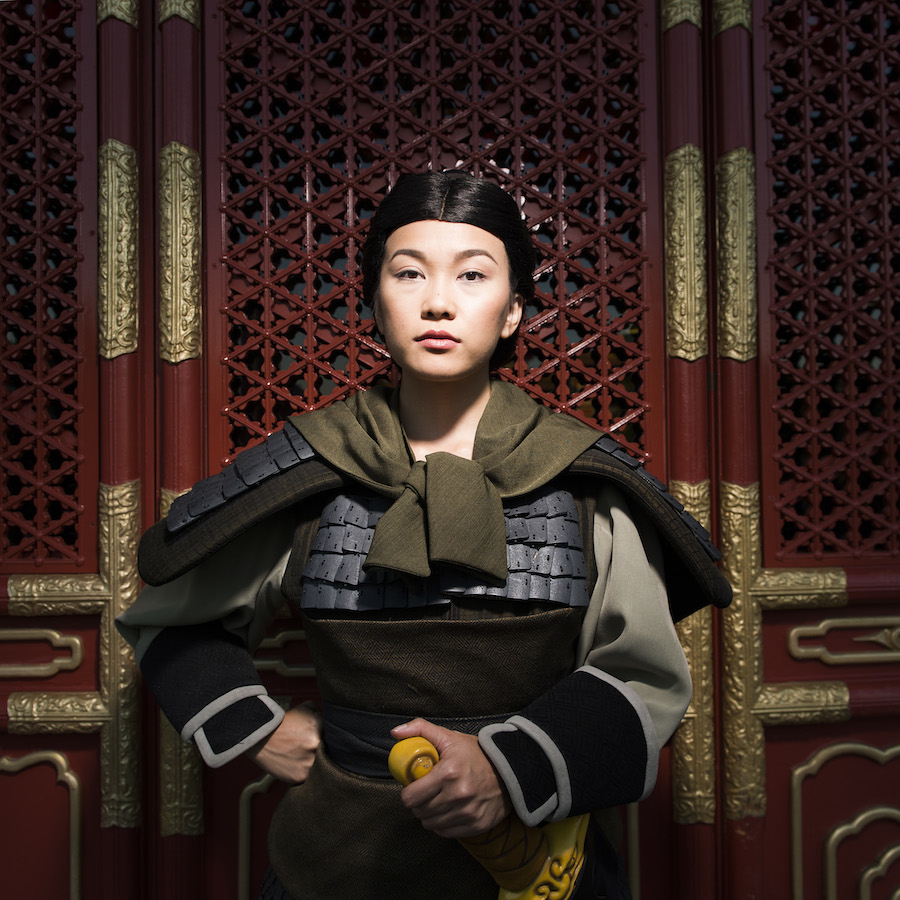 PHOTO GALLERY Special Images of Mulan as Ping at Walt Disney 900x900