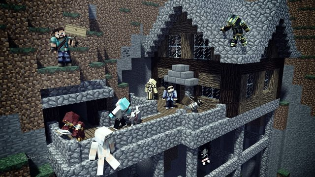 minecraft wallpaper maker skin wallpapers trendingspace 640x360
