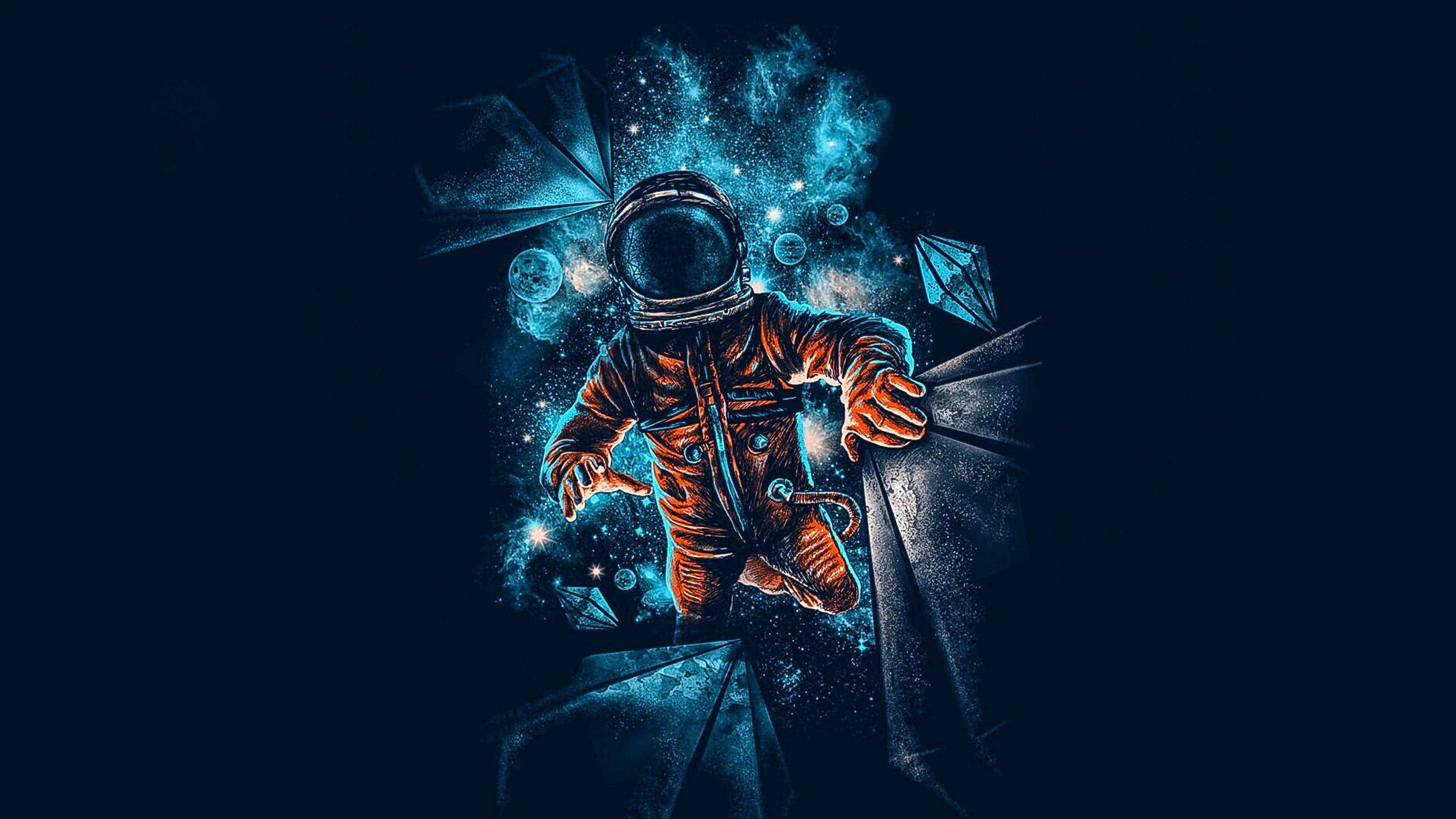 28 Spaceman Wallpapers On Wallpapersafari