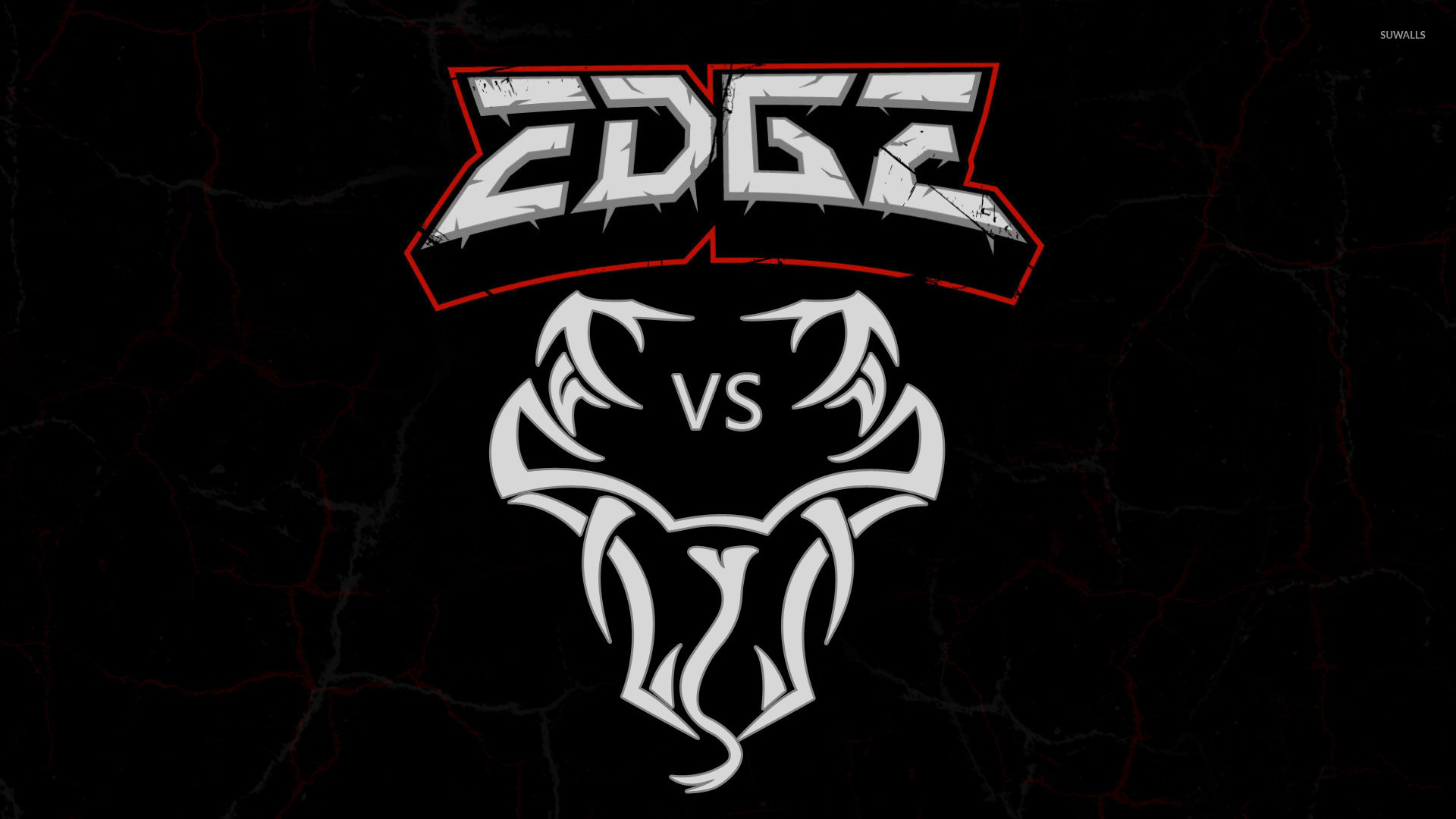 Edge vs Randy Orton logo wallpaper   Sport wallpapers   21150 1920x1080