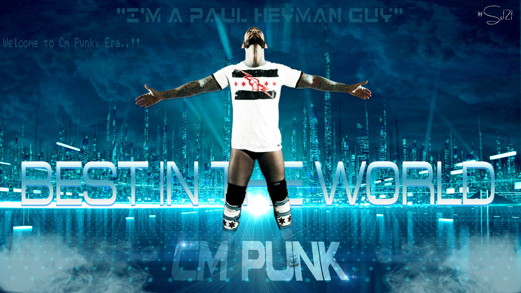 Cm Punk Best in the world wallpaper by SS121 1024x576