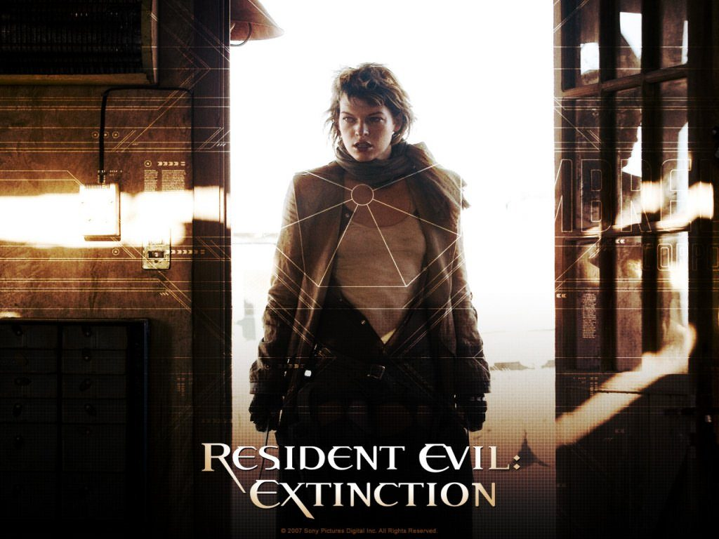 Resident Evil Extinction 2007 1024 x 768 1024x768