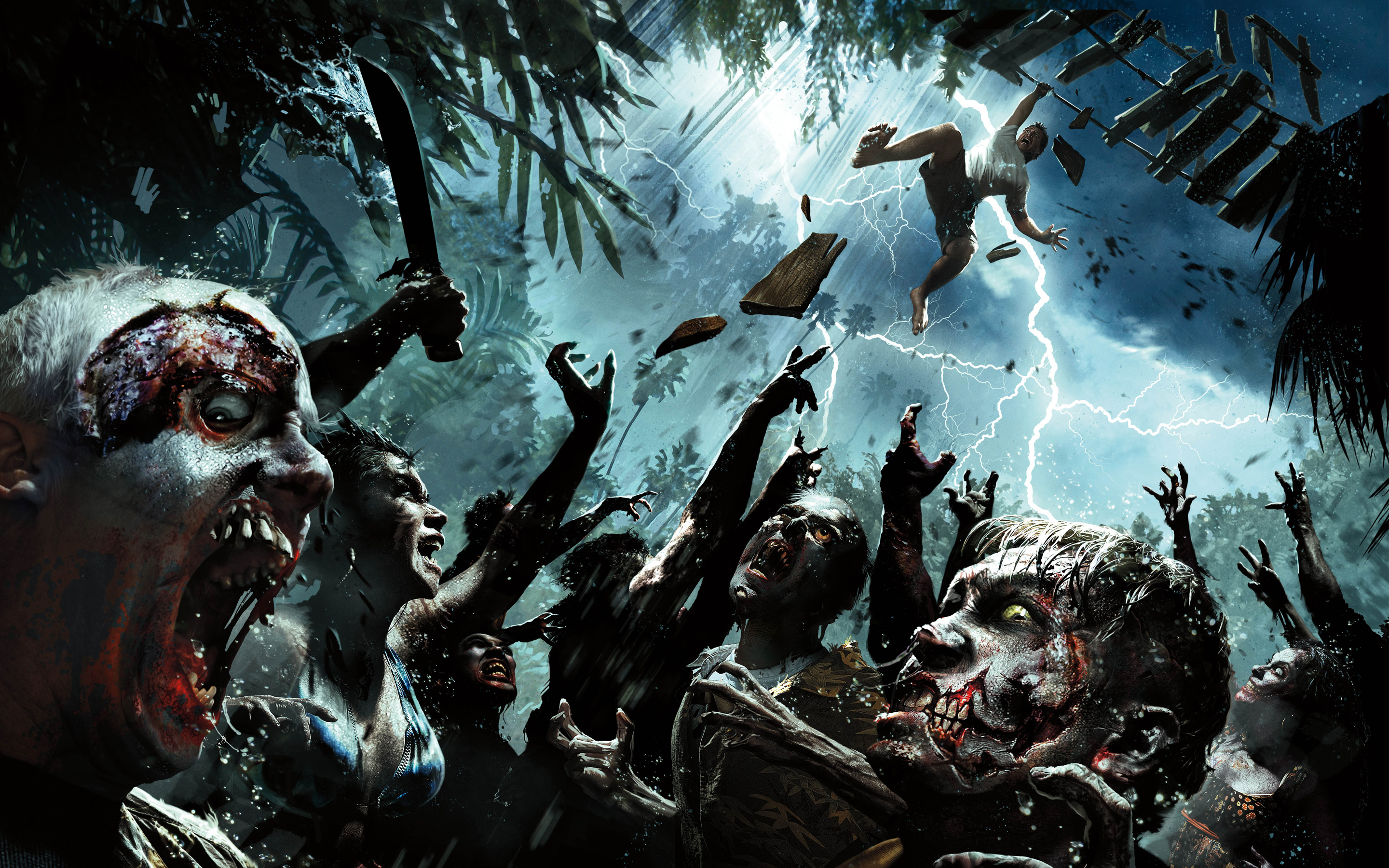Dead Island Riptide Game Exclusive HD Wallpapers 3760 2880x1800