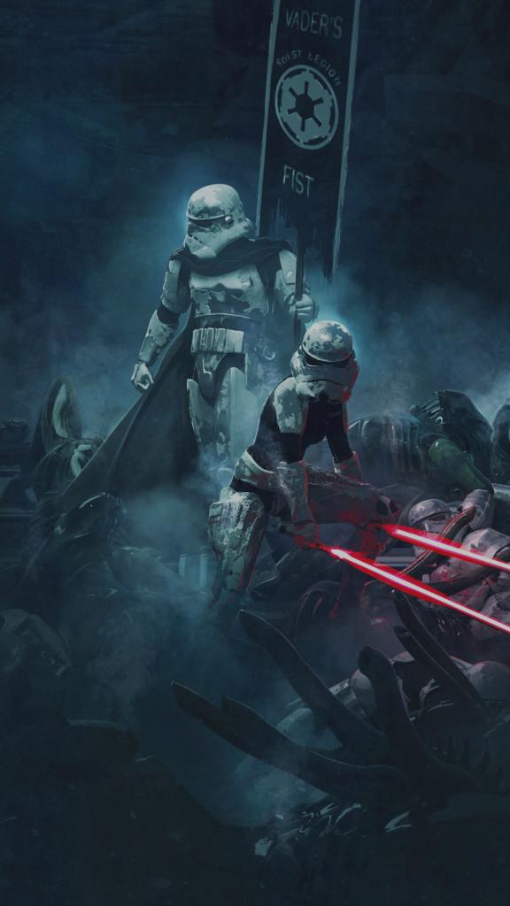 Wallpapers de Star Wars para iPhone MarcianoPhone 576x1024