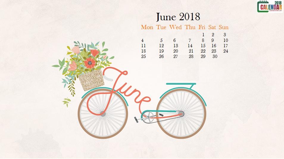 June 2018 HD Calendar Wallpaper Max Calendars 954x535