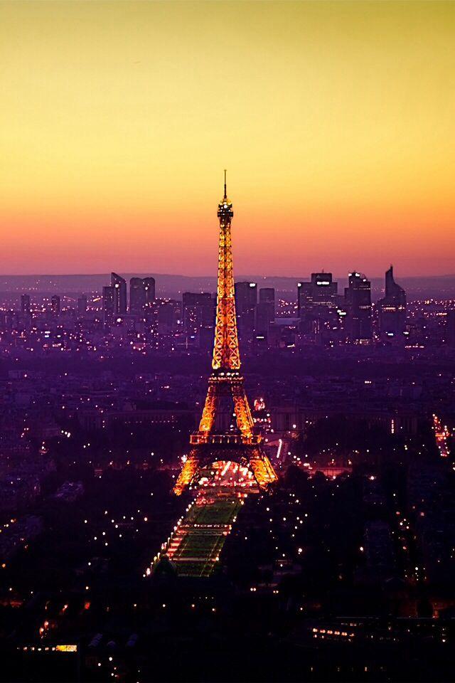 Paris Wallpaper Hd Paris Wallpaper Sunset World World 2889 640x960