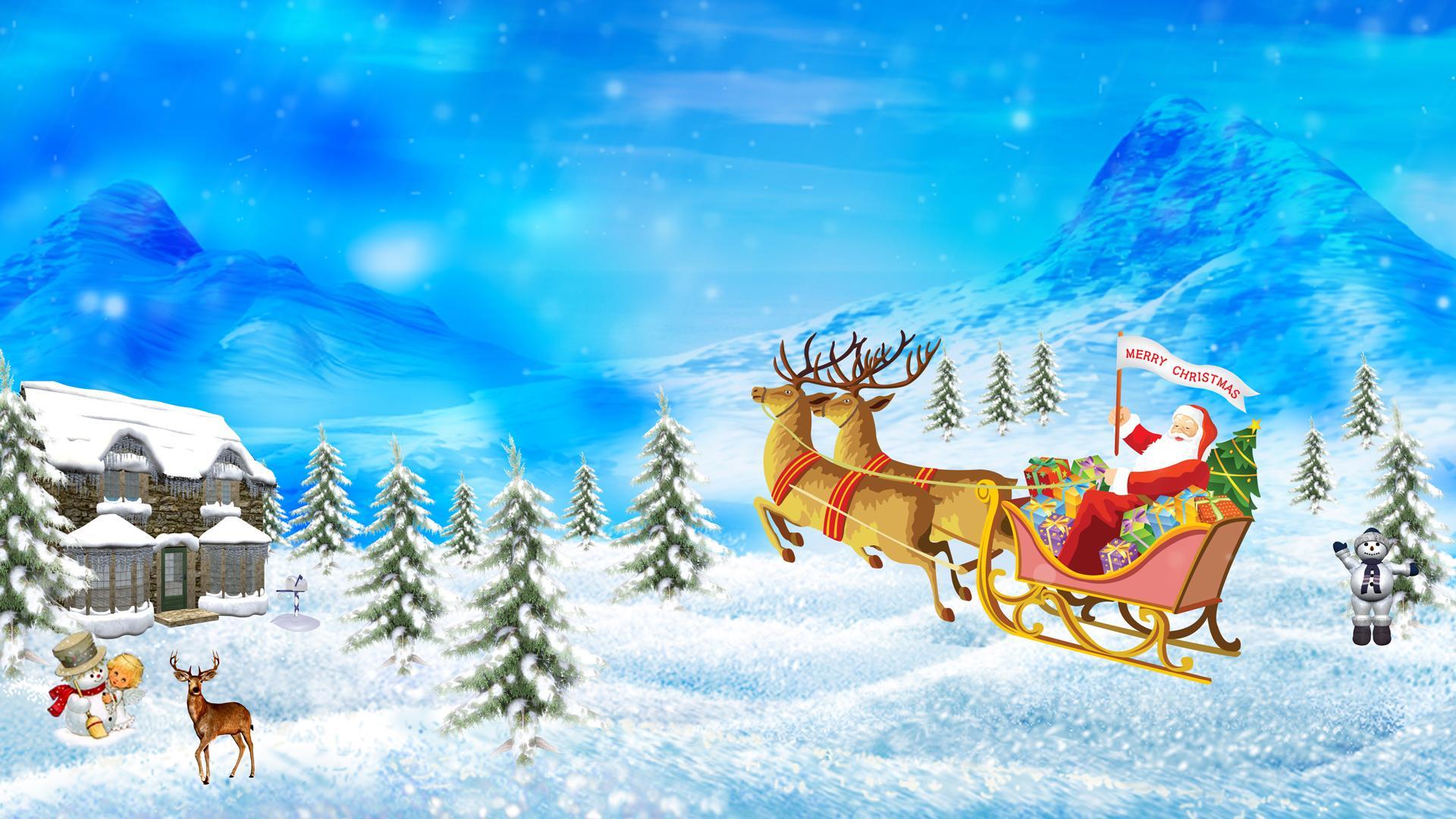 christmas new year holiday celebration 1920x1080