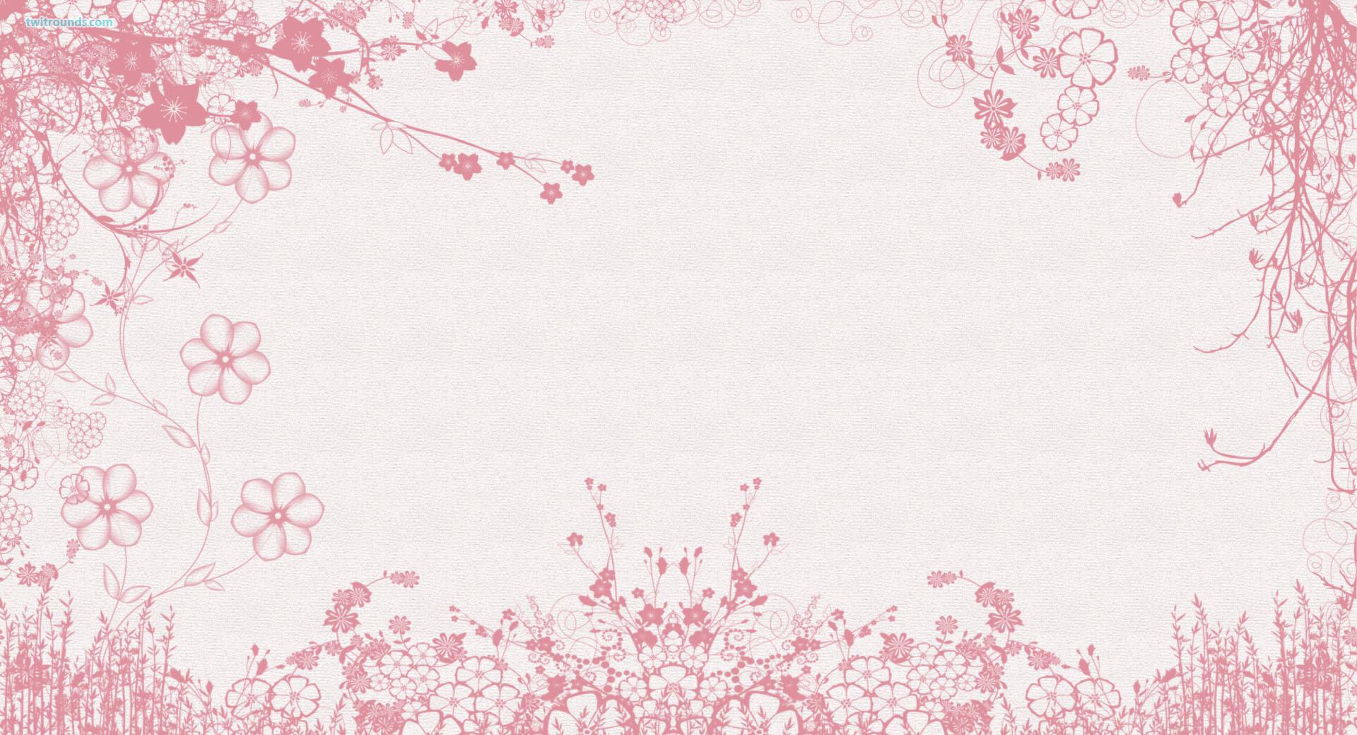 White Pink Flowers Wallpaper 6741 Wallpaper Cool Walldiskpapercom 1920x1040
