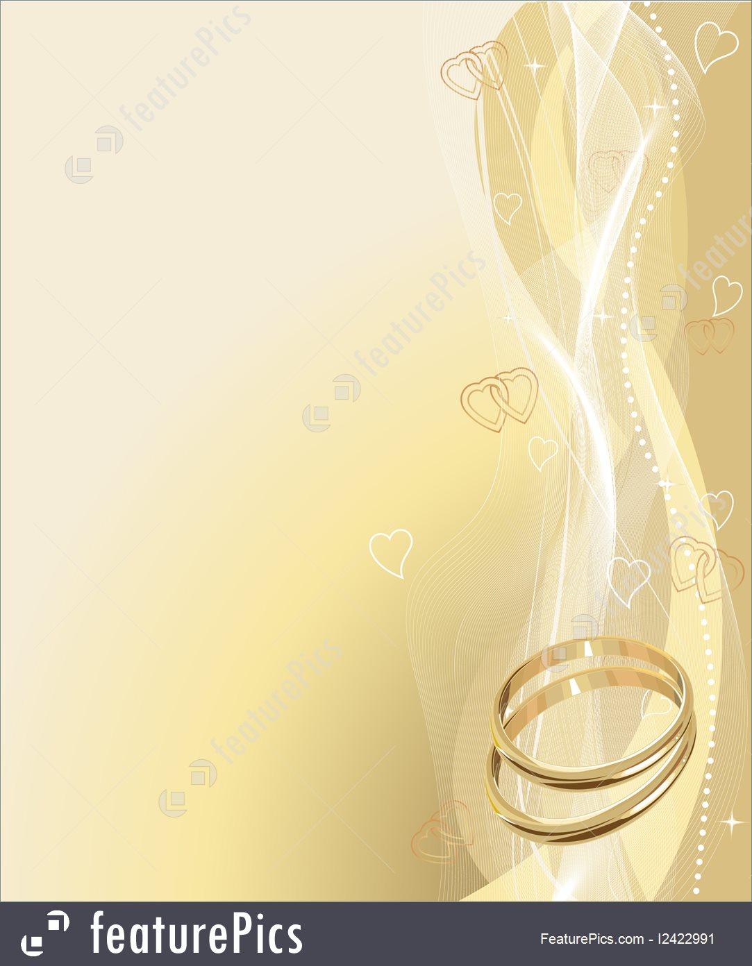 Beautiful Wedding Rings Background 1083x1392