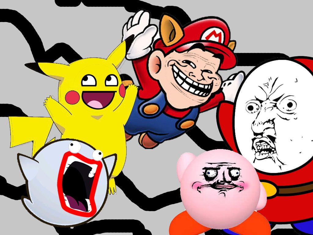 Funny Cartoon Meme Faces Exclusive HD Wallpapers 2943 1024x768