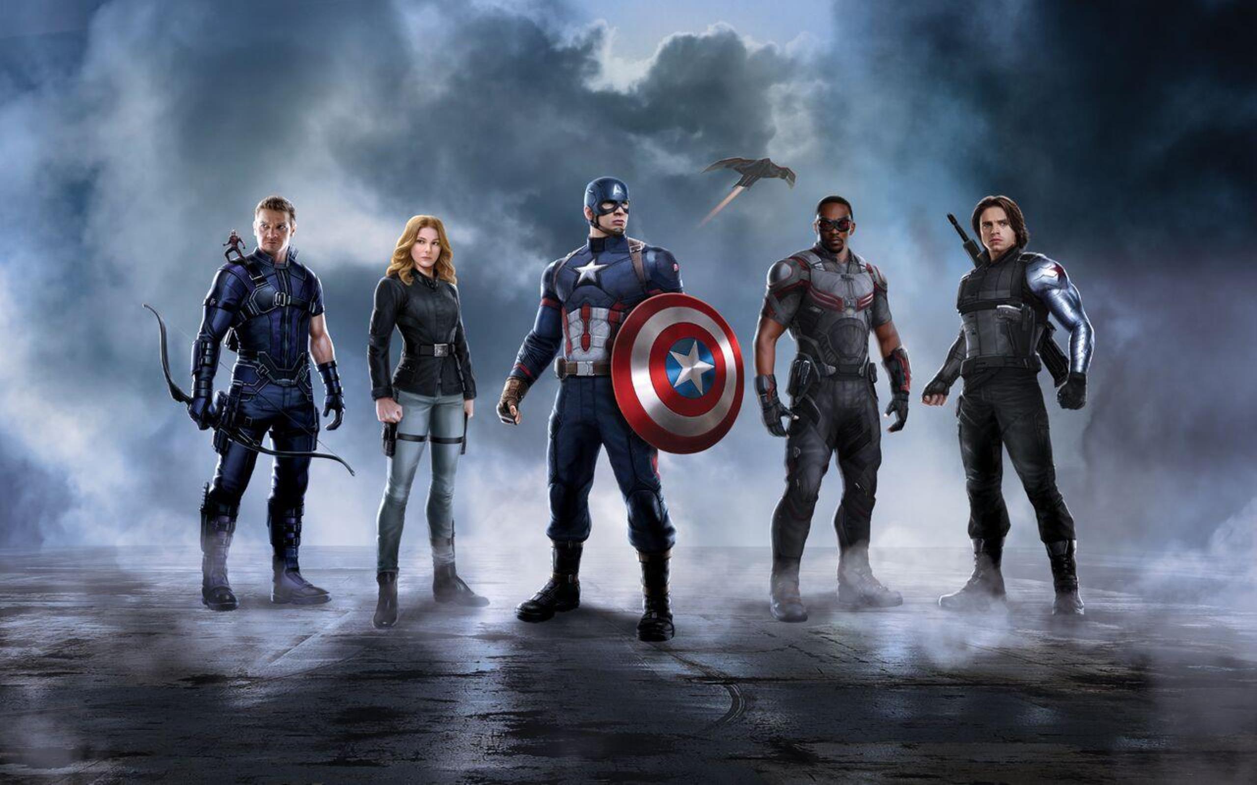 High Resolution Captain America Civil War Computer Wallpaper HD Full 2560x1600