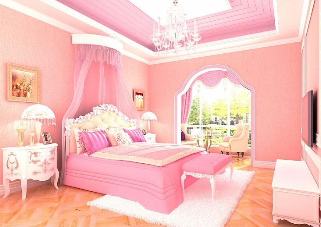 Pink Bedroom Wallpaper Wallpapersafari