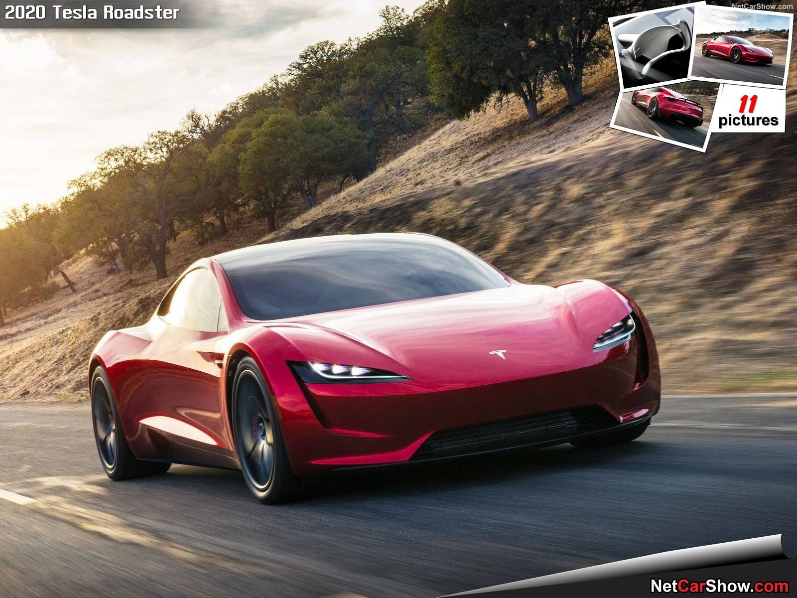 Wallpaper HD Tesla Roadster 2020 2021 Live Wallpaper HD Tesla 1600x1200