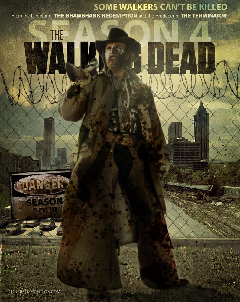 Free Download Walking Dead Season 4 Featuring The Texas Walker By