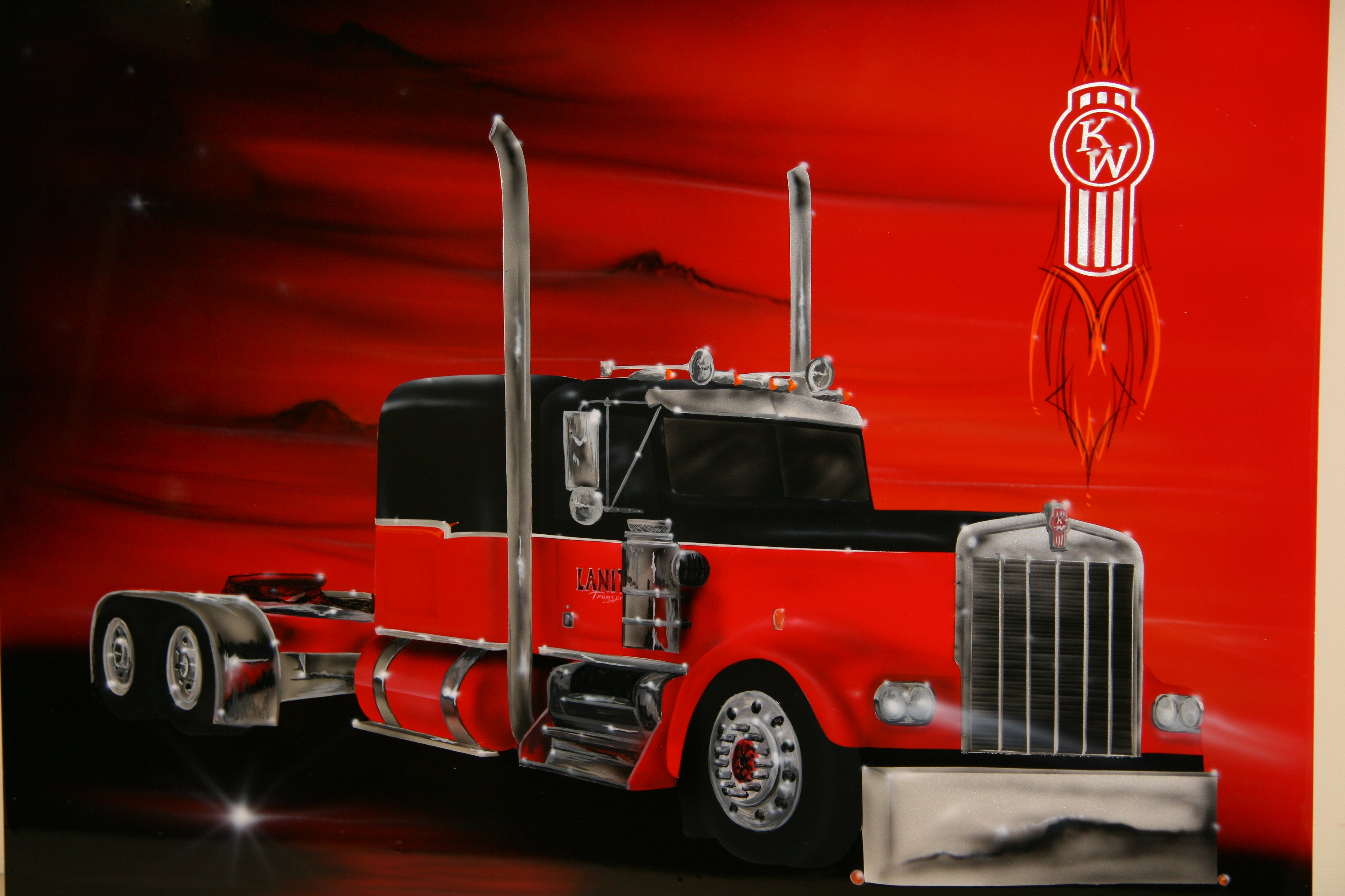Wallpaper Kenworth Truck Logo 3888x2592