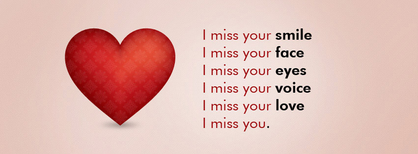 Miss You Wallpapers For Facebook Cover I miss you facebook timeline 851x315