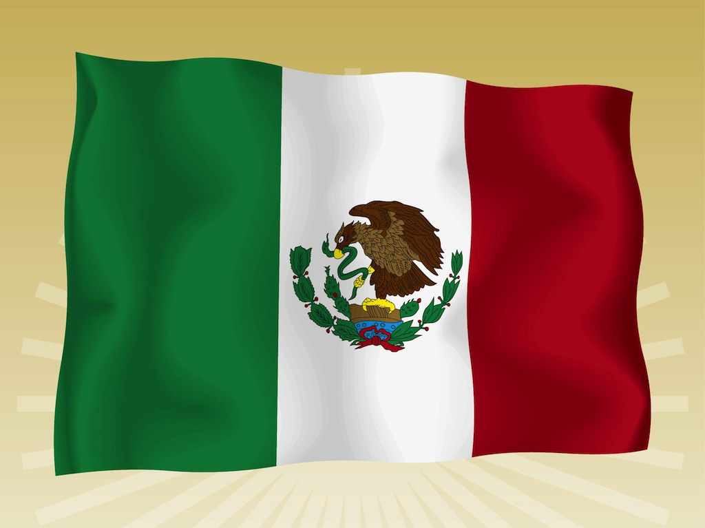 Source URL httpwwwfreevectorcommexican flag 1024x767